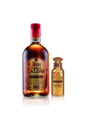 Ron Viejo de Caldas – 750ml + (1) Shot 50ml