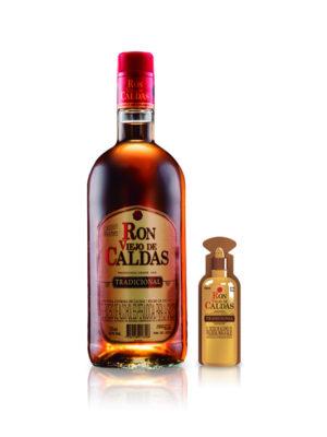 Ron Viejo de Caldas – 1.000ml + Shot 50ml