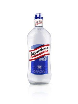 Aguardiente Antioqueño Sin Azúcar Vidrio – 1L