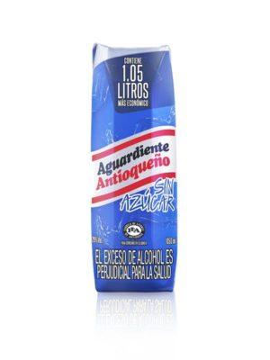 Aguardiente Antioqueño Sin Azúcar Tetrapack – 1L