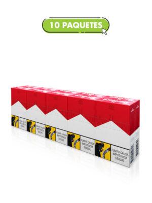 Marlboro Rojo Cartón – 10 Paquetes