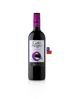 Vino Gato Negro Carmenere – 750ml