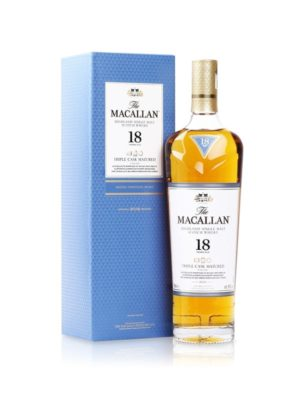 Whisky The Macallan Triple Cask 18 años – 750ml