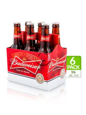 Six Pack Budweiser – 269ml
