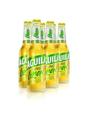 Six Pack Cerveza Aguila Fusión Limón – 330ml
