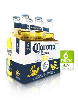 Six Pack Corona Extra – 355ml