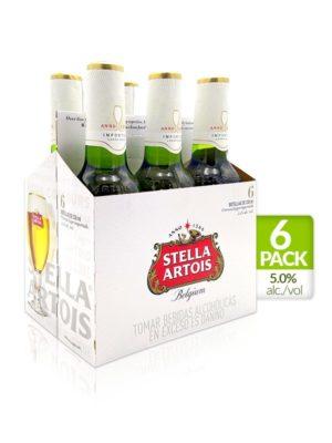 Six Pack Cerveza Stella Artois – 330ml