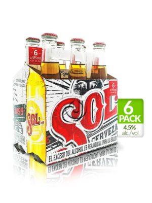 Six Pack Sol – 355ml