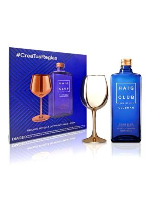 Whisky Haig Club + Copa Dorada – 700ml
