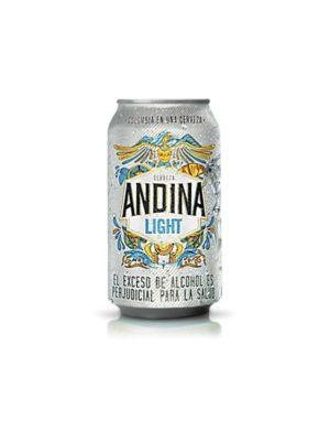 Cerveza Andina Light – 355ml