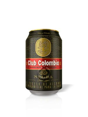 Cerveza Club Colombia Negra – 330ml