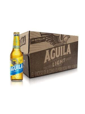 Paca Cerveza Aguila Light 330ml – 24 Unidades