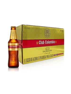 Paca Club Colombia Dorada 330ml – 24 Unidades