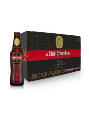 Paca Cerveza Club Colombia Negra – 24 Unidades