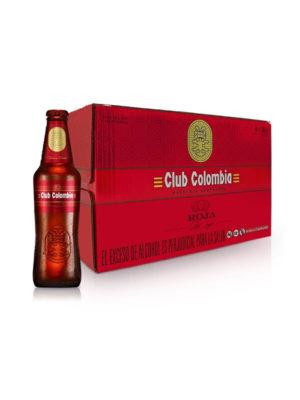 Paca Cerveza Club Colombia Roja – 24 Unidades