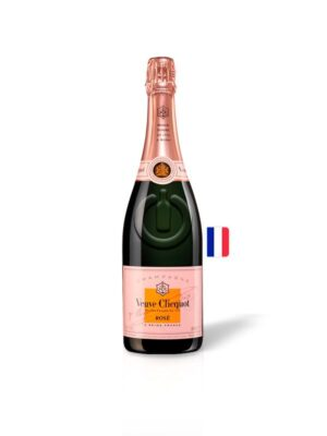 Champagne Veuve Clicquot Rose   Botella – 750ml