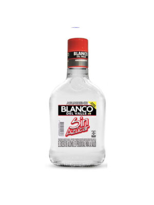 Aguardiente Blanco del Valle sin Azucar -375ml