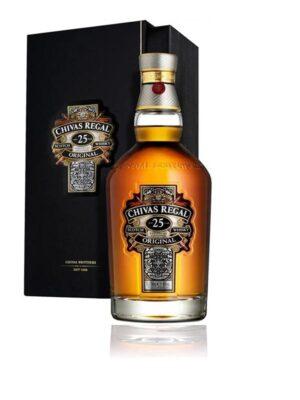 Whisky Chivas Regal 25 Años Botella – 700ml