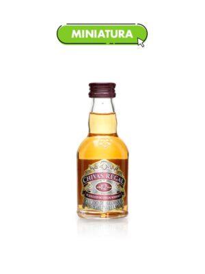 Whisky Chivas Regal 12 años Mini – 50ml