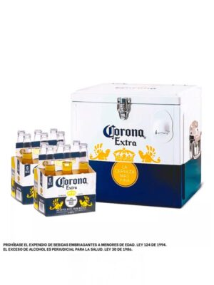 Cerveza Corona x 12 + Mini Cooler